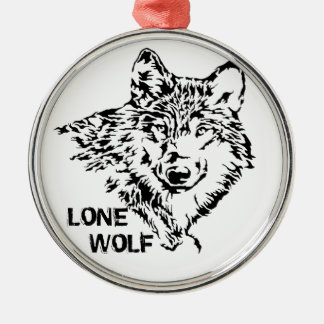 Lone Wolf 2 Christmas Ornament