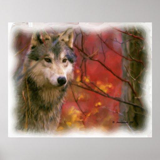 Lone Wolf 3 Art Print