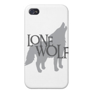 LONE WOLF iPhone 4 CASE