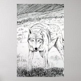 Lone Wolf Original art print
