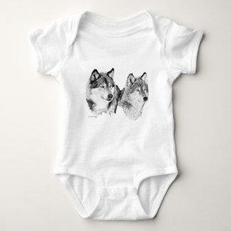 Lone Wolves Baby Bodysuit