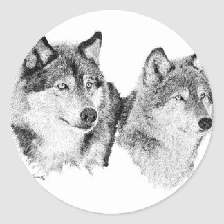 Lone Wolves Stickers