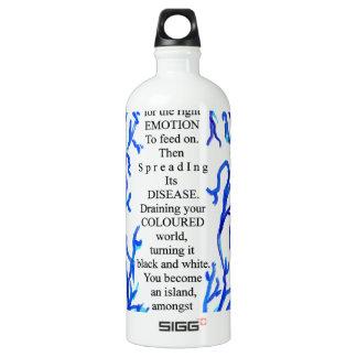 loneliness water bottle