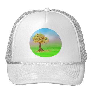 Lonely Autumn Tree Hats