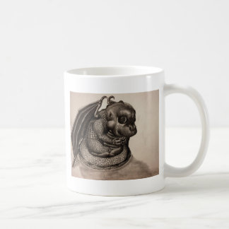 Lonely Baby Dragon Coffee Mug
