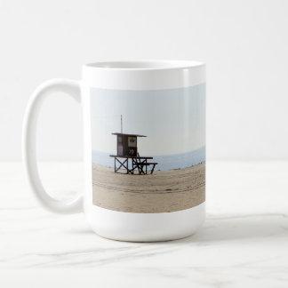Lonely Beach Coffee Mugs