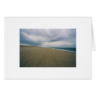 Lonely beach, Provincetown Greeting Card