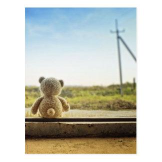 Lonely Bear Postcard