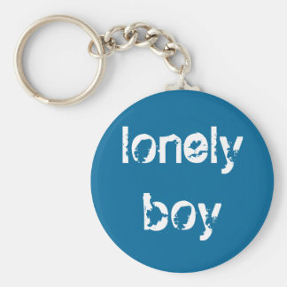 """Lonely Boy"" Keychain"