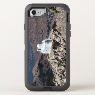Lonely church in Greek mountains OtterBox Defender iPhone 8/7 Case