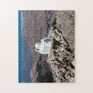 Lonely church in Greek mountains Puzzles