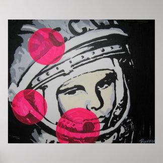 """""""Lonely Cosmonaut"""" Poster"""