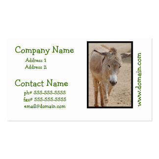 Lonely Donkey Business Card