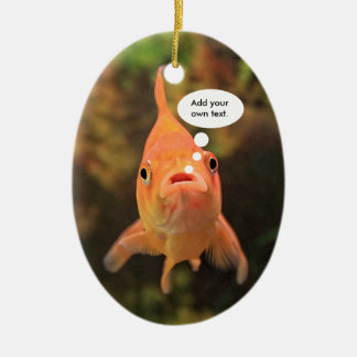 Lonely Fish Christmas Ornament
