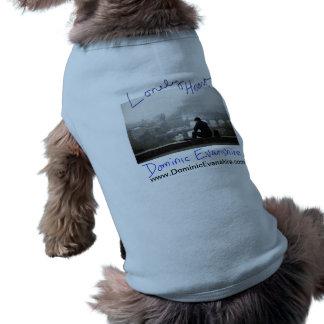 Lonely Heart Doggy Tee Sleeveless Dog Shirt