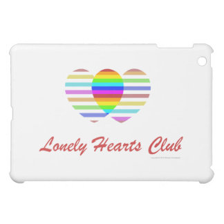 Lonely Hearts Club, Gay and Lesbian Pride iPad Mini Case