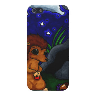 Lonely Hedgehog at night iPhone 5 Cover