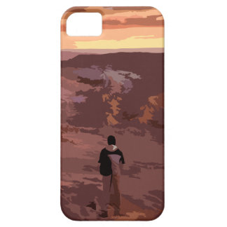 Lonely Man Rocky Landscape Case
