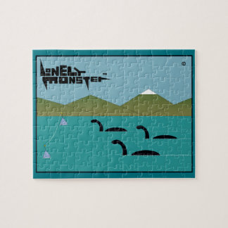 Lonely Monster Race Jigsaw Puzzle