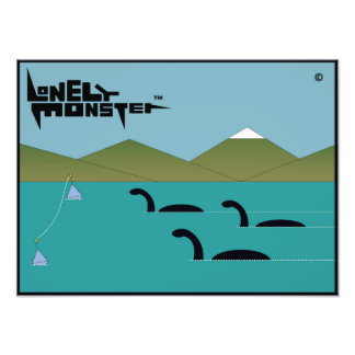 Lonely Monster Race Photo Print