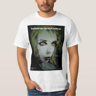 'Lonely Night Ghoul' on a Value Shirt