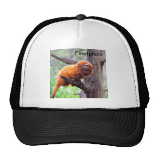 Lonely Red Leaf Monkey Trucker Hat