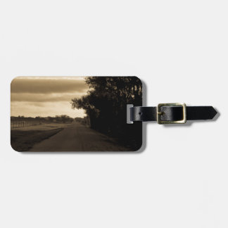 Lonely Road Luggage Tag