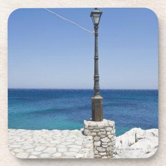 Lonely spot for a lantern, Kokkala village, Mani Coaster