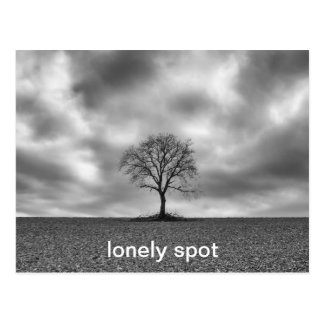 lonely spot postcard