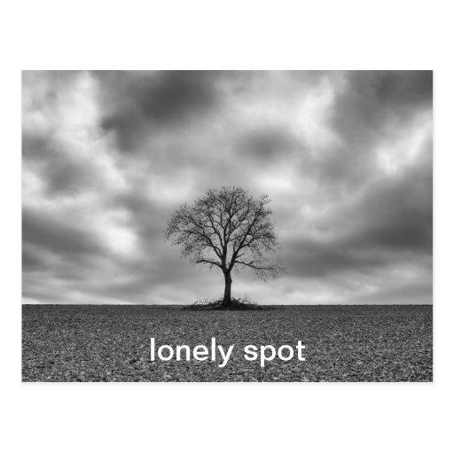 lonely spot postcard