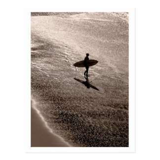 Lonely Surfer Postcard