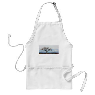 Lonely tree - New Mexico. Standard Apron