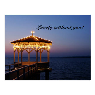 Lonely without you - Postcard