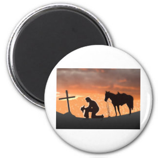 Lonesome Cowboy Magnet