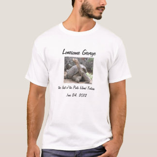 Lonesome George Memoriam T-Shirt