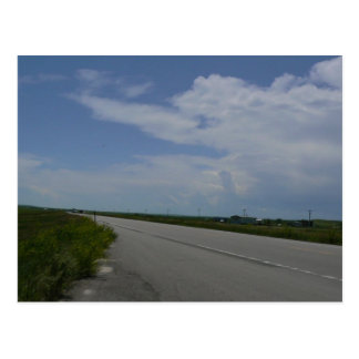 Lonesome Highway Postcard