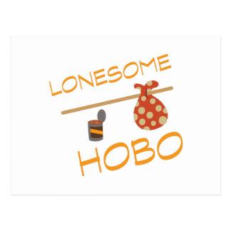 Lonesome Hobo Postcard