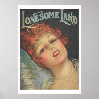 Lonesome Land Print