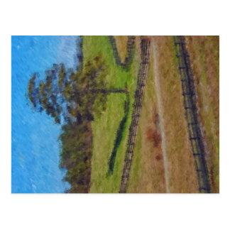 Lonesome Pine - Impressionist Postcard