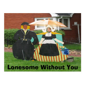 Lonesome Without You Postcard