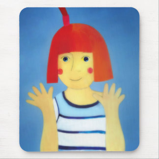"""""""Long-armed girl"""" (fairy-tale) Mouse Pad"""