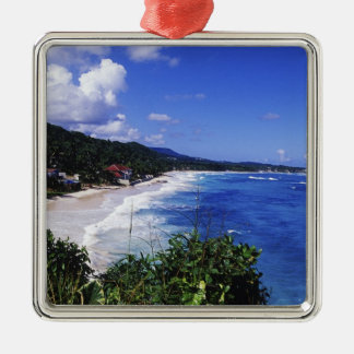 Long Bay, Port Antonio, Jamaica Christmas Ornament