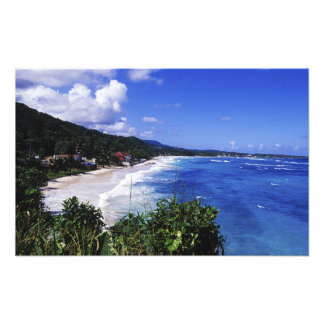 Long Bay, Port Antonio, Jamaica Photo Print