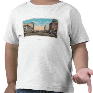 Long Beach, CA - Ocean Boulevard View Tshirts