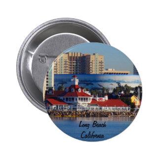 Long Beach California 6 Cm Round Badge