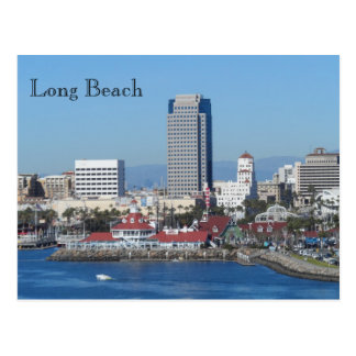 Long Beach, California Postcard