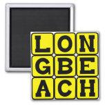 Long Beach, California United States Fridge Magnet