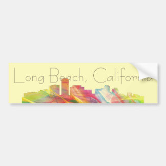 LONG BEACH CALIFORNIA WB1 - BUMPER STICKER