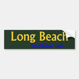 Long Beach Established Vehicle Bumper Sticker