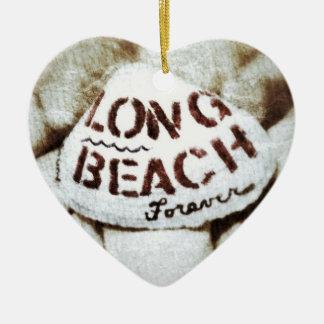 Long Beach Forever. Christmas Ornament